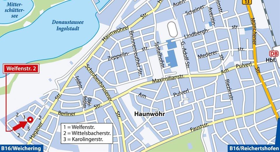 Plz Ingolstadt Bayern Postleitzahlen 85049 85057 Ingolstadt
