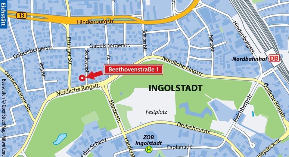 Apartments Ingolstadt Beethovenstrasse 1